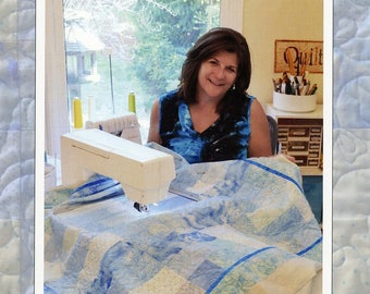 Edge-To-Edge Quilting On Your Embroidery Machine