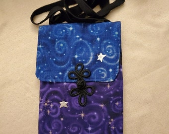Starry Skies Small Purse/Passport Bag/Phone Pouch
