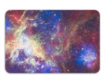 Bath Mat Non Slip, Galaxy Shower Mat, Space Stars Bathroom Mat, Tarantula Nebula Memory Foam Bath Mat, Astrology Gift, Printed in USA