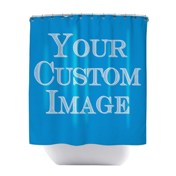 Custom Shower Curtain Personalized