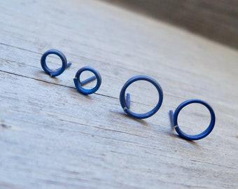 Pure Titanium Hypoallergenic Stud Post Earrings - Earrings for Sensitive Ears - Hypoallergenic Post Earring Set