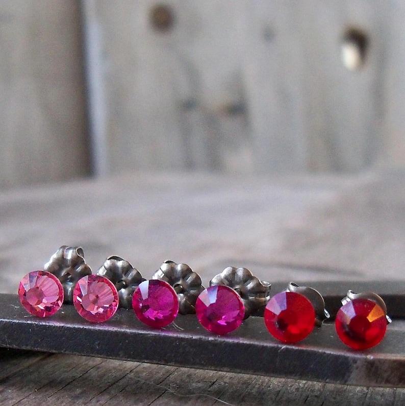 Gift for Girls  Stud Earring  Little Girl Earrings  image 0