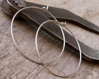 Hypoallergenic Hoop Earrings for Sensitive Ears - Pure Titanium Hoops - Hoop Earrings - Pure Titanium Earrings - Earrings for Sensitive Ears