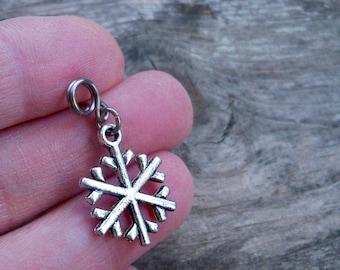 Snowflake Earrings - Christmas Earrings - Hypoallergenic Pure Titanium Post or Dangle Earrings - Winter Earrings - Children's Earrings