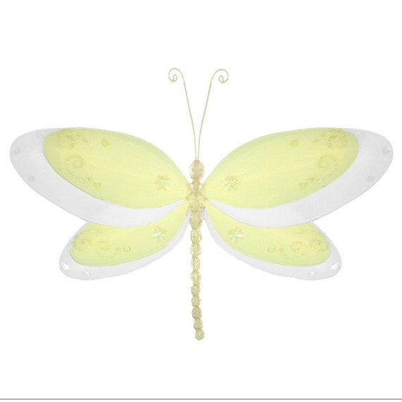 Dragonfly Baby Shower Decor Hanging Birthday Party Nursery Ceiling Dragonflies