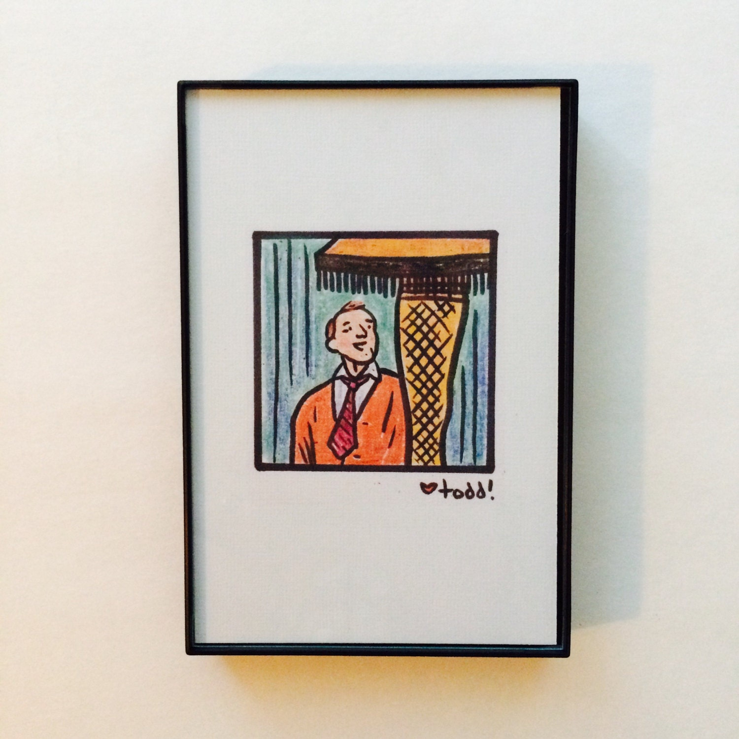 A Christmas Story, Print, 4 x 6 inches, Leg Lamp, the Old Man ...