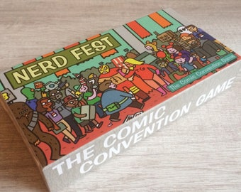 Nerd Fest: The Comic Convention Game, tabletop card and dice game by the creators of Mr Toast