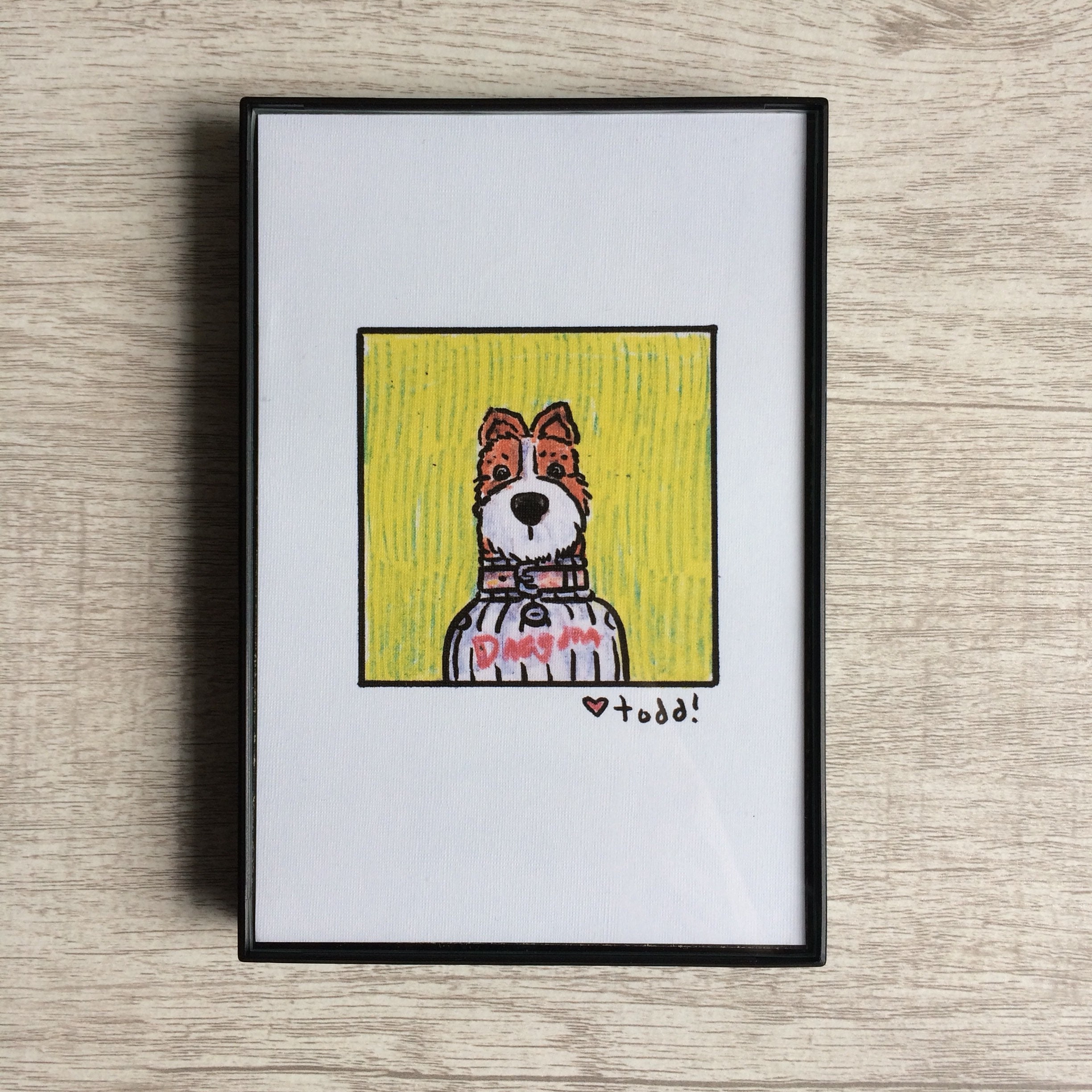 Isle of Dogs Boss Print 4 x 6 inches Wes Anderson | Etsy