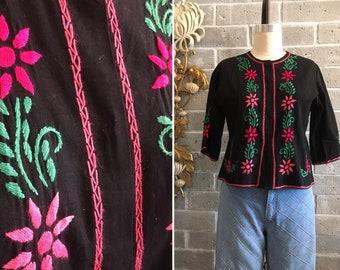 021d951fb6a Vintage embroidered jacket