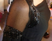 reserved for Artsyshopper Stunning one of a kind 1930s beaded gown