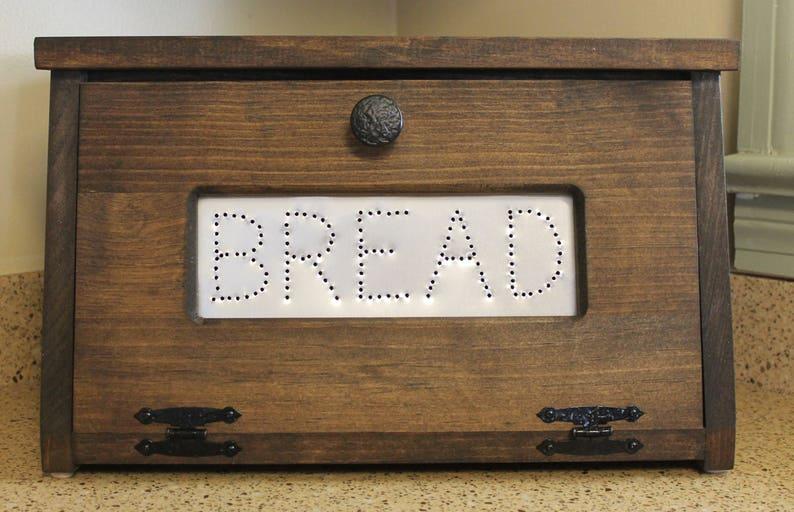 Bread Bins Wooden Bread Bin