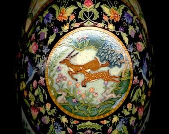 Made To Order: Elysium Batik Easter Egg