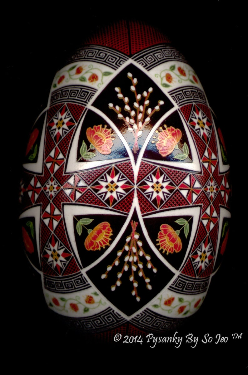 Made To Order Prayers for Ukraine Pysanka Pysanky Batik image 0