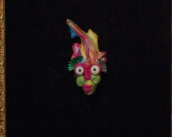 Tiny L'il Fishy Guy #3 - pin - by Greg Delaney