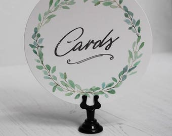 Table Number Holder, Black Sign Stand, Bakery Food Sign Holder, Wedding Table Number Holder