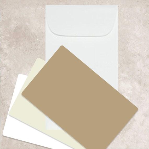 Gift Enclosure Mini Envelopes,Confetti 25 Blush Pink Vellum Mini Envelopes