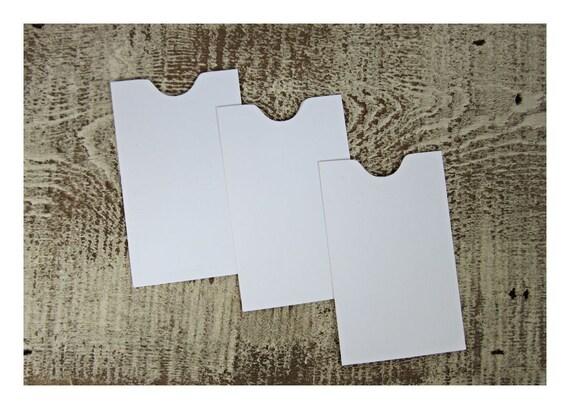 25 white mini envelopes notch envelopes wedding envelopes etsy