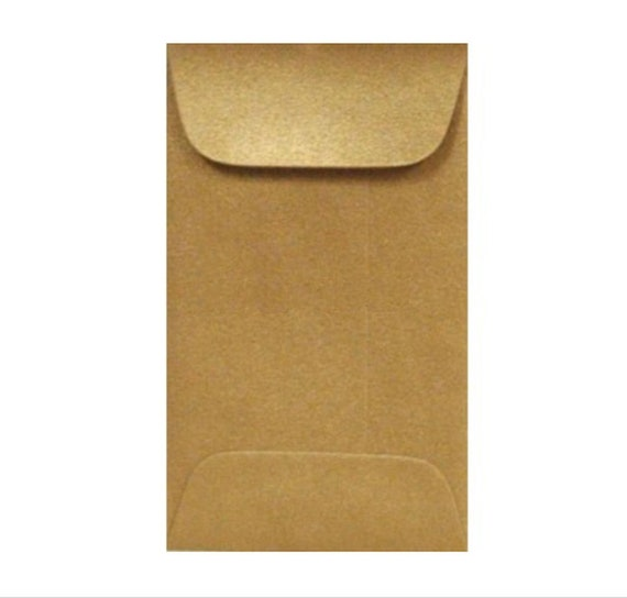 100 gold envelopes metallic antique gold coin envelope gift etsy