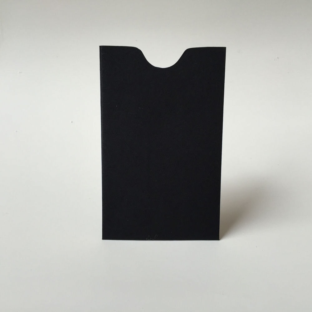 25 Black Mini Envelopes, Business Card Holder, Gift Certificate ...
