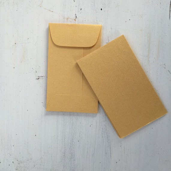 25 mini gold envelopes metallic gold coin envelope business etsy image 0 colourmoves