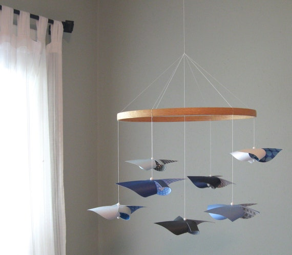 plafond mobile hung b b chambre de b b mobile mobile de etsy. Black Bedroom Furniture Sets. Home Design Ideas