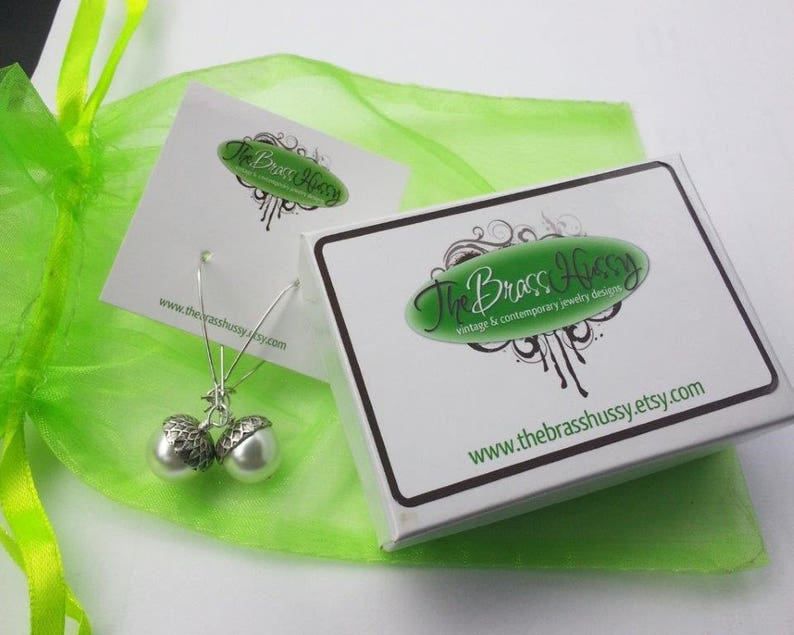 Mossy Green Sterling Silver Earrings  Sage Green Translecent Earth Tones Gift for Her Jewelry