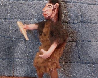 Miniature OOAK  Greek Faun doll