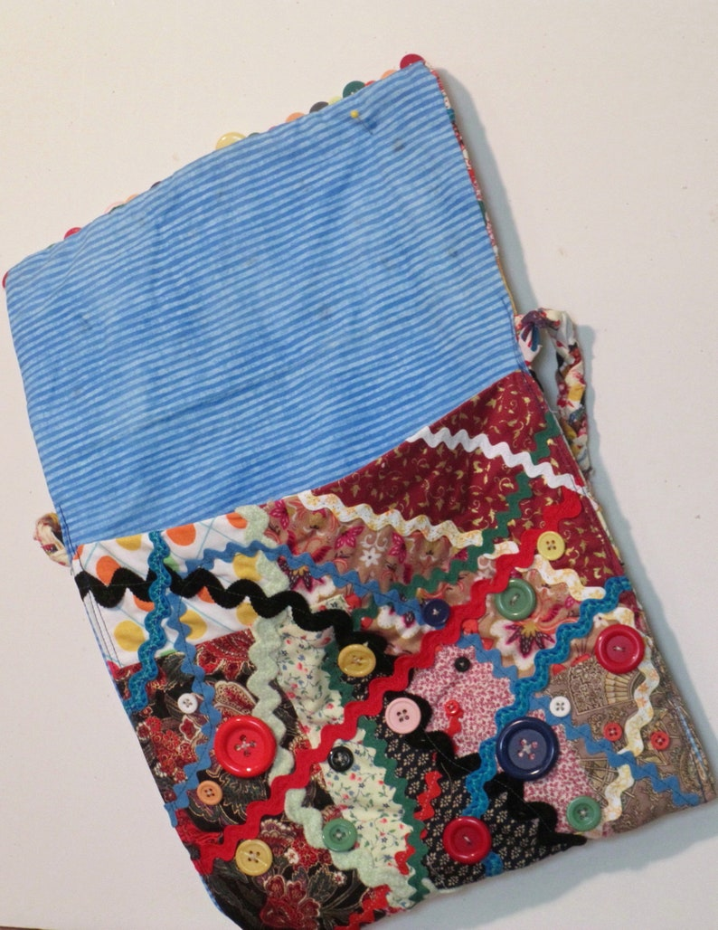 Rickrack purse boho gypsy shoulder bag messenger