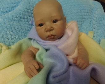 LuLu Adrie Stoete Painted Doll Kit Reborn Doll Kit Painted Baby Vinyl Doll Reborn Doll Kit