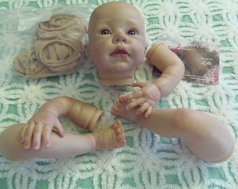 Romie Strydom PAINTED Kit Reborn Doll Kit LILA Romie Strydom Limited Edition #107 of 600 Girl Baby Vinyl