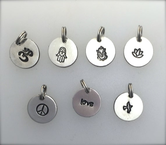 Yoga Inspired Charms-Yoga charms-Meditation charms-Vegan Charms-Vegan gift-Jewelry making-Charms-metal charms-Gift-Birthday