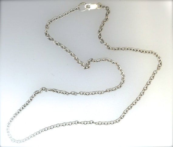 Chain-Add A Charm Chain-Silver Plated Chain-Cable chain-New Chain-Replacement Chain