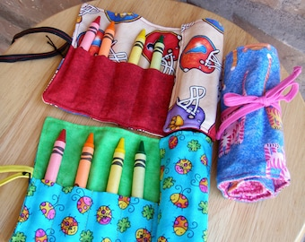 Colored Pencil, Crayon and Marker Roll-ups