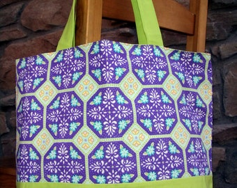 Lavender and Limeade Purse