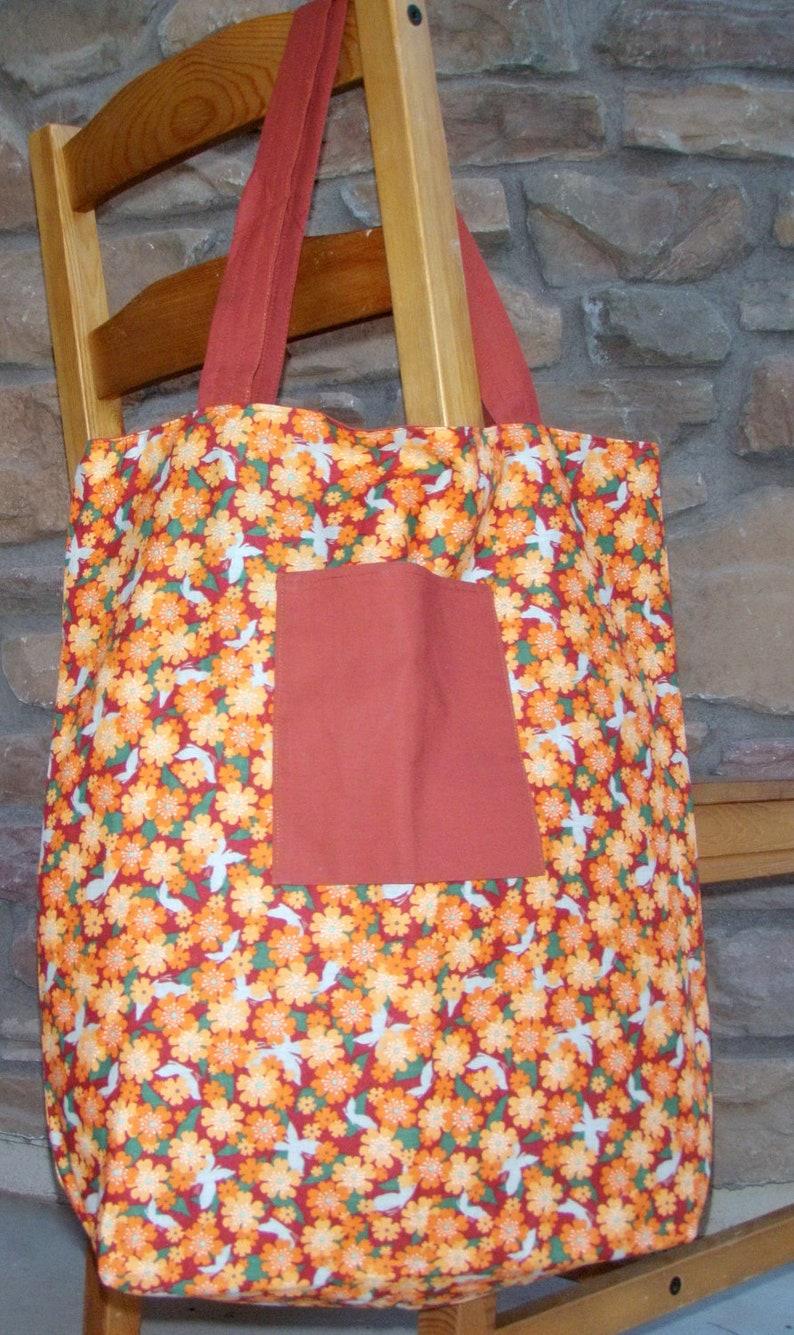 Reusable Cotton Market Shopping Bags image 0