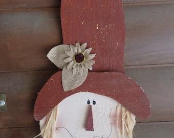 Fall  Scarecrow~Seasonal~Thanksgiving Home Decor~Door/Wall Hanger
