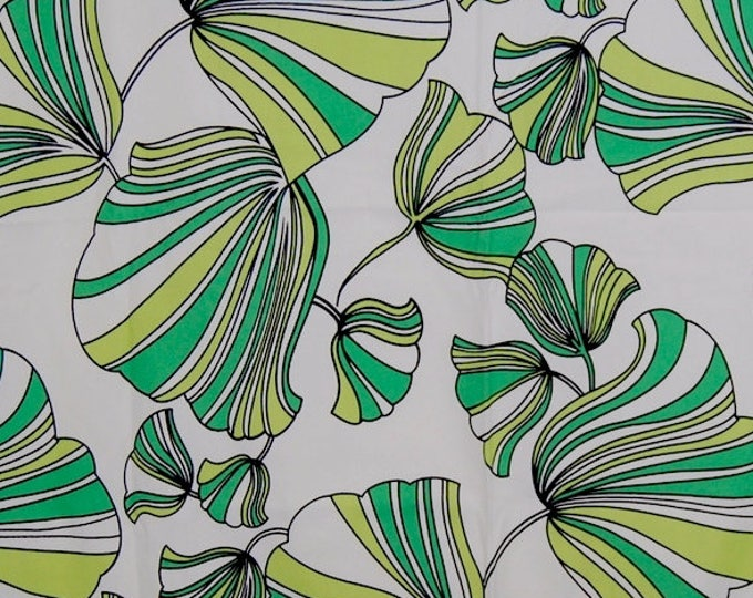 Modern tropical upholstery fabric Ginkgo leaf fabric