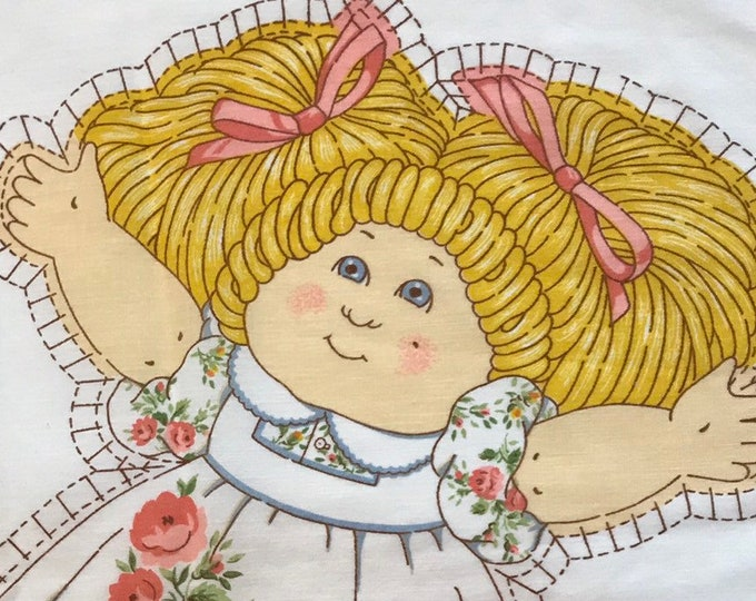 Cabbage patch doll sew and stuff fabric pattern