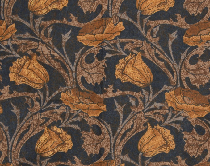 Art Nouveau fabric William Morris Liberty of London Designer fabric sample upholstery fabric
