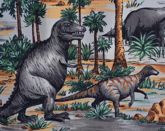Dinos fabric Prehistoric animals fabric dinosaur fabric