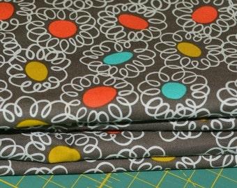 Mod fabric, Retro atomic, OOP HTF Michael Miller
