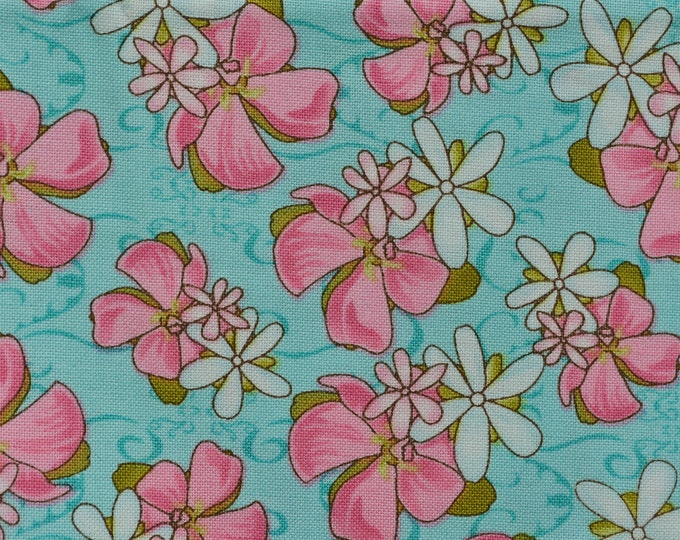 cotton fabric Hawaiian tropical floral Studio e hibiscus flower