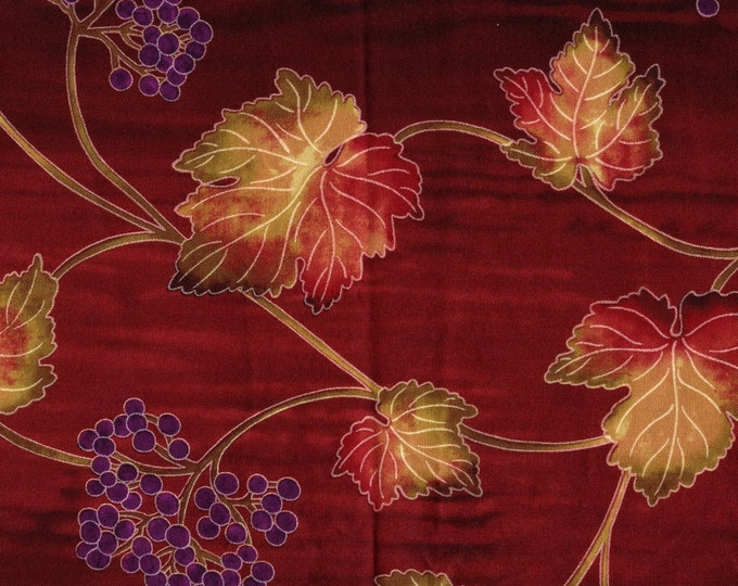 Grapevine fabric, wine country quilting fabric Timeless Treasures