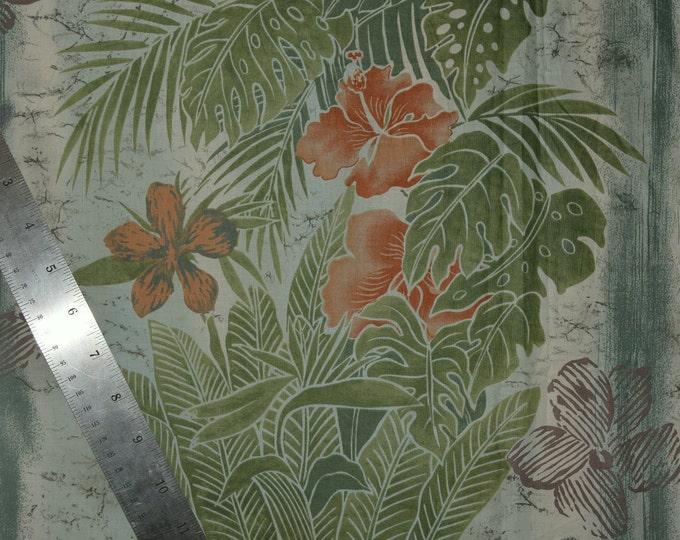 Tori Richard Hawaiian fabric cotton voile fabric or cotton lawn