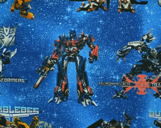Transformers fabric out of print by Hasbro 2007