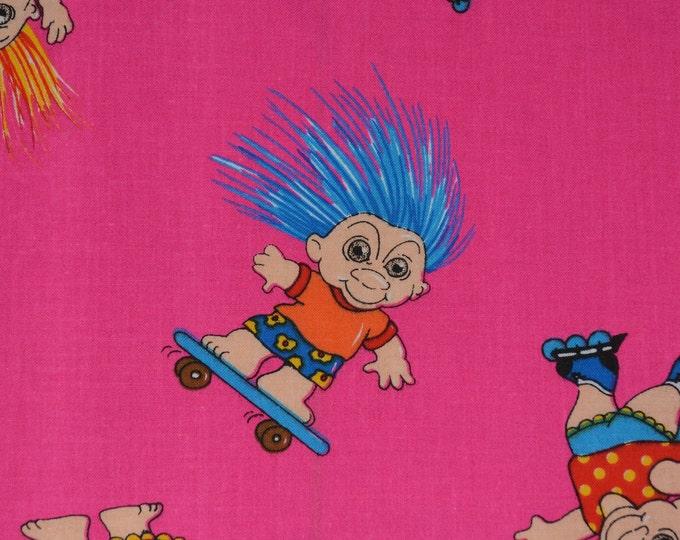 Trolls Troll doll fabric blue hair troll Marcus Brothers
