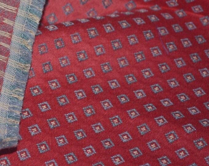 Woven upholstery fabric diamond pattern geometric FREE SWATCH