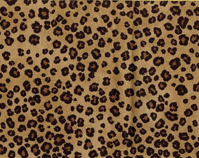 Leopard print fabric moda spotted leopard Zanzibar Sentimental Studios