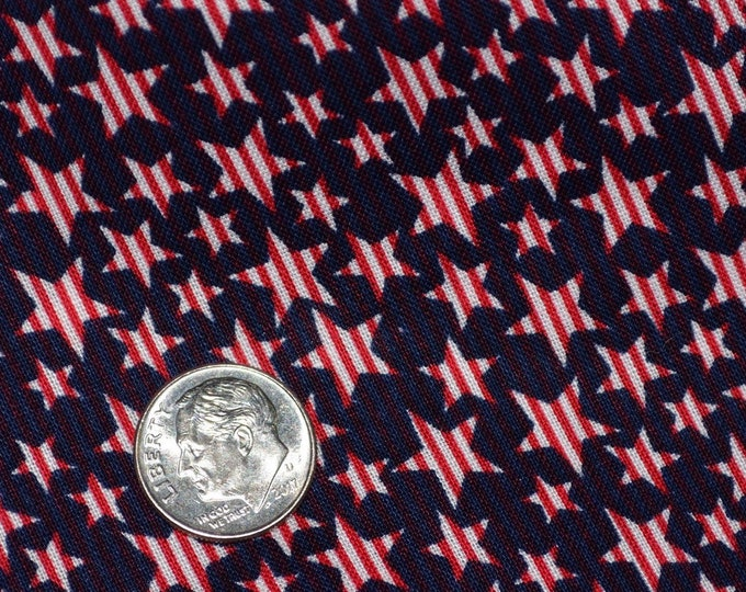 4th of July fabric stars and stripes fabric red white and blue Patriotic fabric by the yard