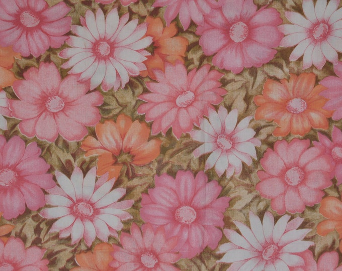 Spring floral sheets vintage 70s sheets Cannon Monticello